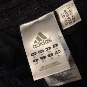 adidas Bottoms - Adidas cropped athletic pants size kids girls MD